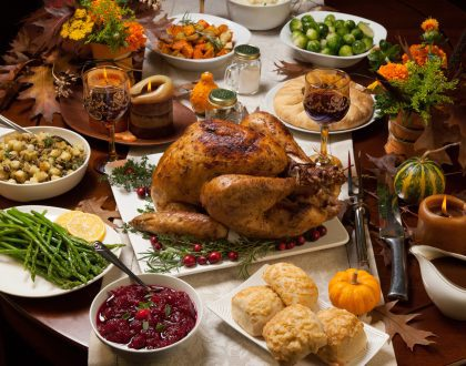 Top 5 Thanksgiving Dinners