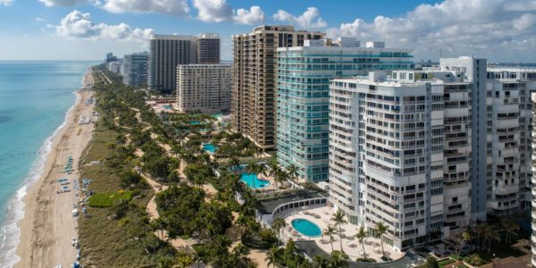 Bal Harbour Beach Aerial